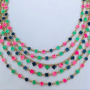 Kate Spade Cubetti multistrand necklace